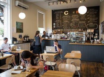 Crema Coffee On Dundas West Indie Cafe Coffee House Cafe Coffee Shop