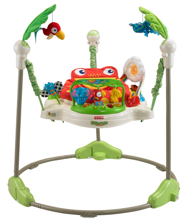 9b081212a Fisher-Price K6070 Rainforest Jumperoo Now  63.99 (Reg.  104.99 ...