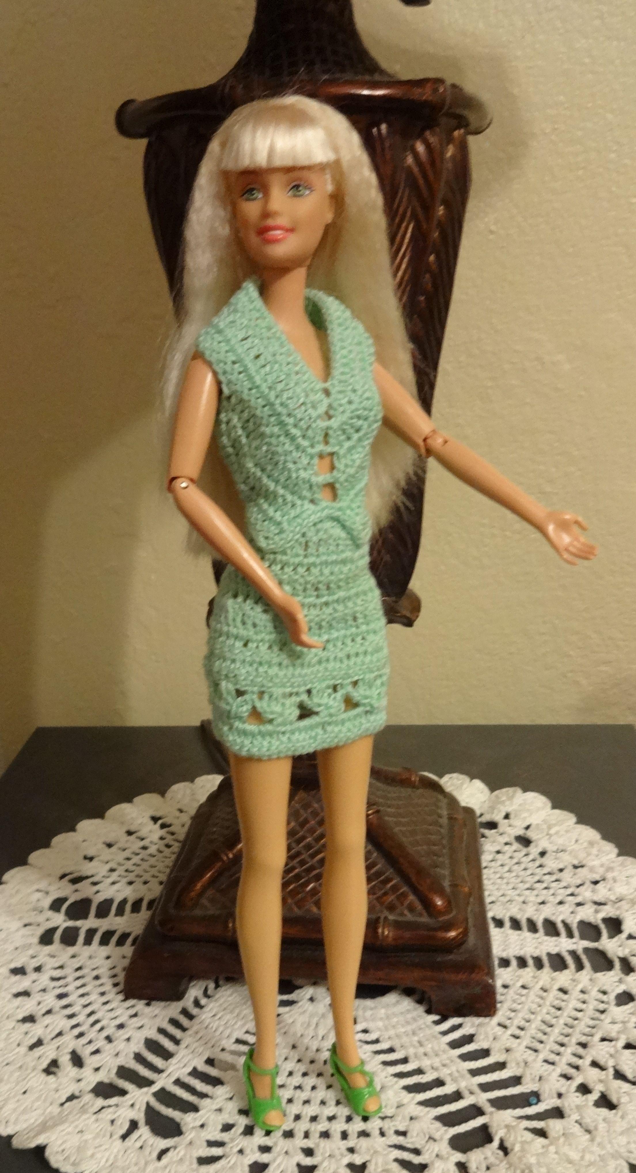 Pin by karen jones on barbie crochet. patterns | Pinterest | Barbie ...