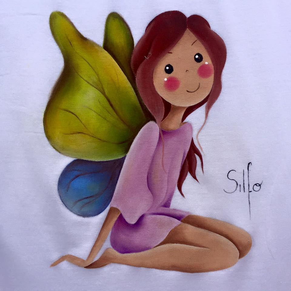 Pin de Olga Bernardo en Silfo   Pinterest   Pintura en tela ...