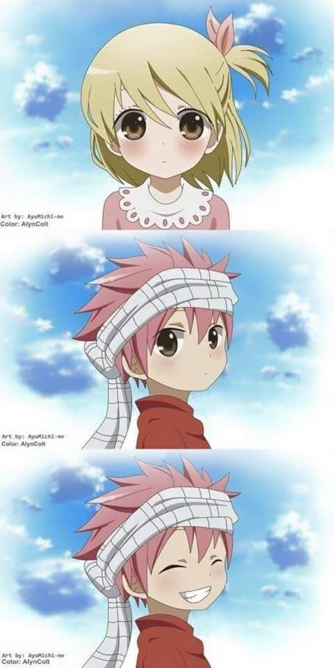 OMG I JUST DIED RIGHT THERE WHEN NATSU SMILED ITS  JUST  2