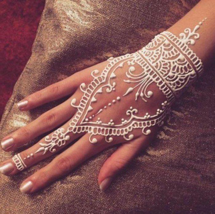 Henna Hand Tattoo Origin: Uralte Kunst Zur Temporären Hautverzierung