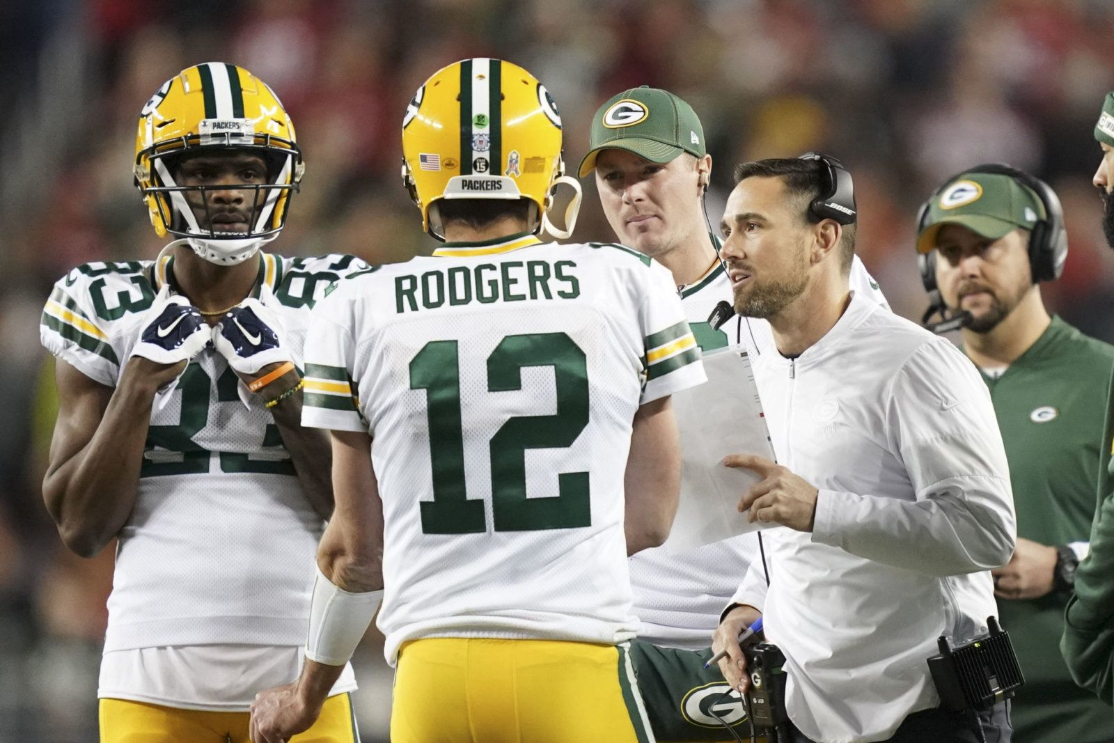 It S A Changing Of The Guard Among Nfl Quarterbacks Total Packers Green Bay Packers Merchandise Nfl Quarterback
