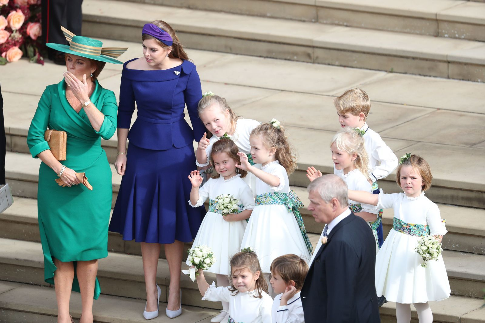 Every Photo From Princess Eugenie And Jack Brooksbank S Royal Wedding Eugenie Wedding Princess Eugenie Jack Brooksbank Princess Beatrice Wedding