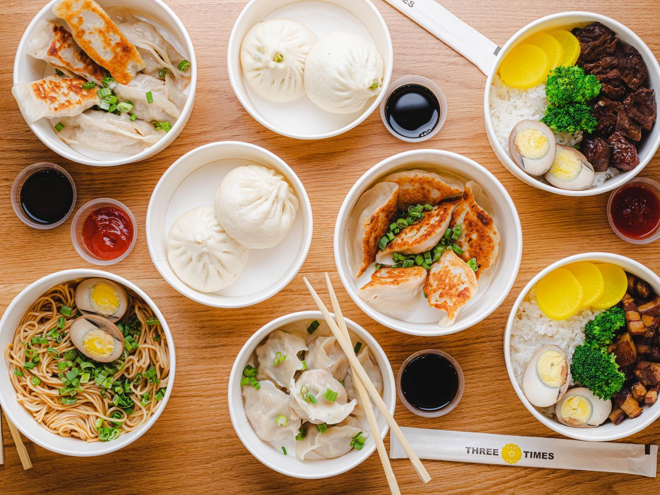 One Of Nyc S Top Dumpling Chefs Heads Up Two New Chinese Fast Casual Restaurants Chinese Food Delivery Food Appetizer Recipes