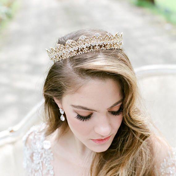 Tiara Bridal Tiara Crystal Tiara ROWENA Swarovski Bridal | Bridal ...