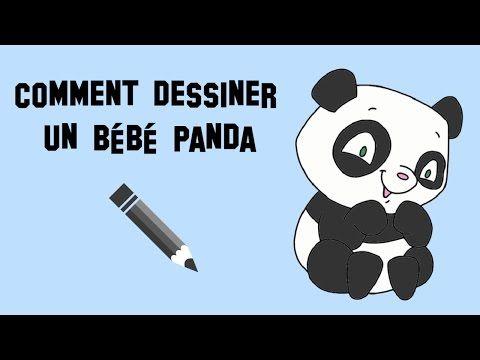 Comment dessiner un b b panda adorable youtube dessiner pinterest b b s pandas comment - Comment dessiner un bebe chat ...