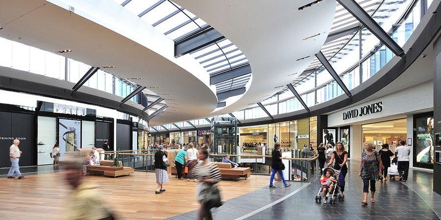 Mall Entrance Design Architecture