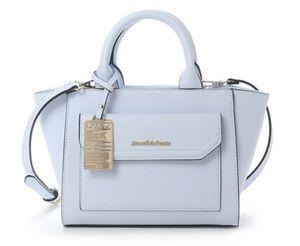 3e91086b4e072 Samantha Thavasaのサマンサ シュエット フロントポケットハンドバッグ ...