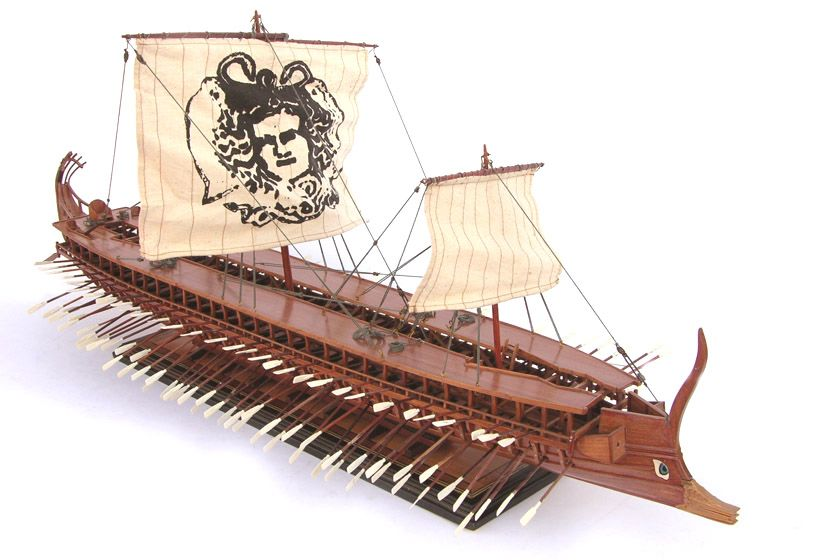 Image result for trireme model