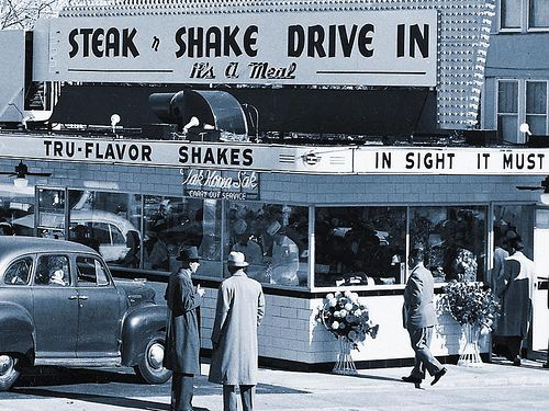 1950 S Steak N Shake Drive In Restaurant By Kocojim Via