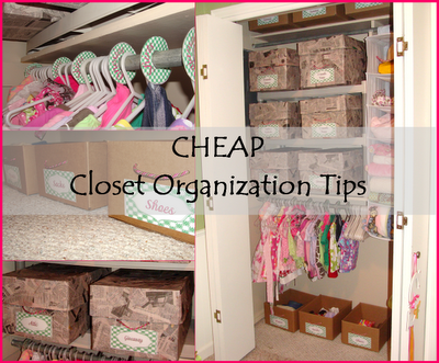 Awesome CHEAP Closet Organization Tips