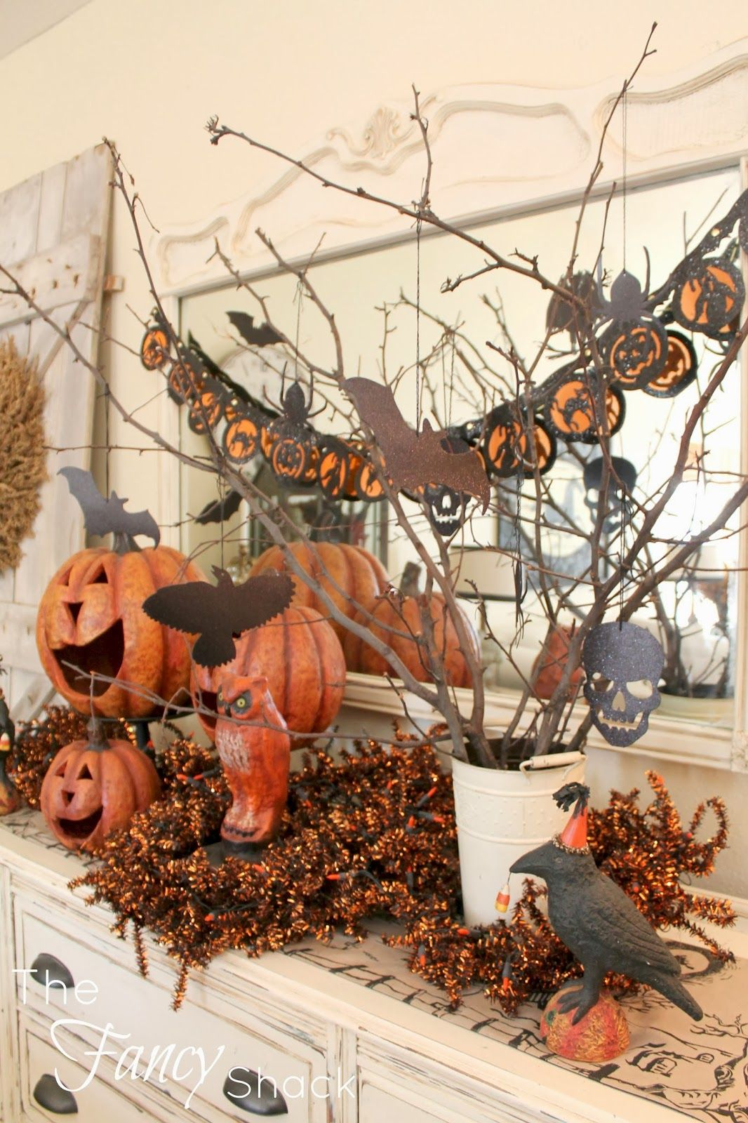 Only 2 days until Halloween! Where has October gone? I thought I - Inside Halloween Decorations
