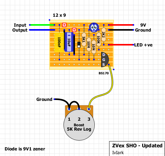 This is the newer version of the Super Hard on with a zener diode ...