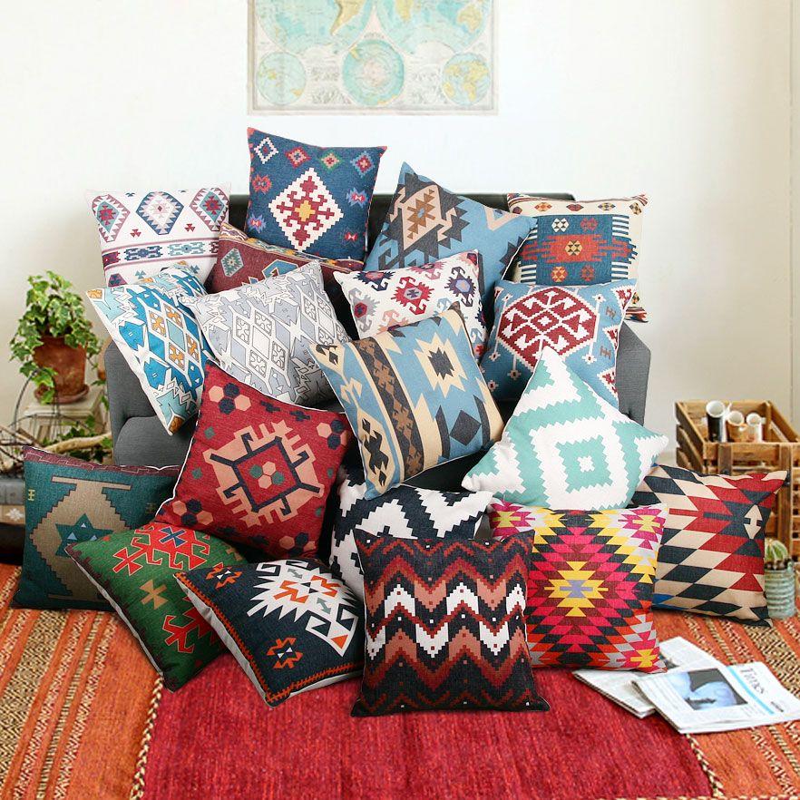 New Decorative Pillows Cojines Decorativos Almofada Cushions Home