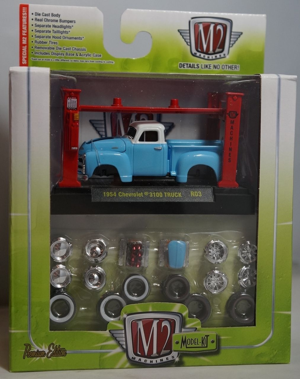 1954 54 Chevrolet Chevy 3100 Pickup Truck Candy Blue With Rims