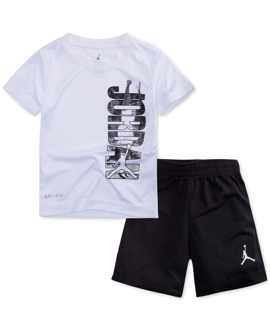 Pc. Jumpman T-Shirt \u0026 Shorts Set