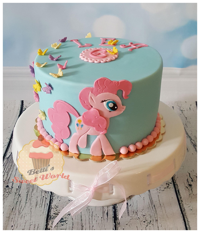 Pinkie Pie Pinkiepiecake Mylittleponycake Cake Mlp Party