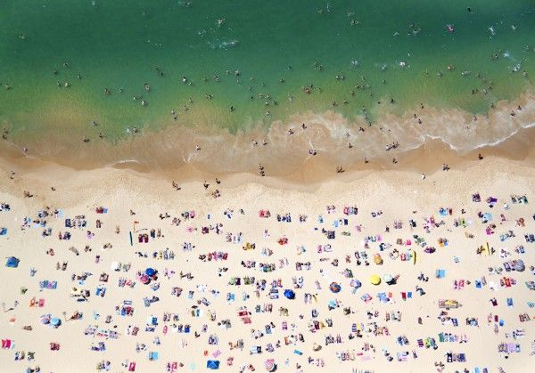 Travelettes » Beach Life – Aerial Photography by Gray Malin