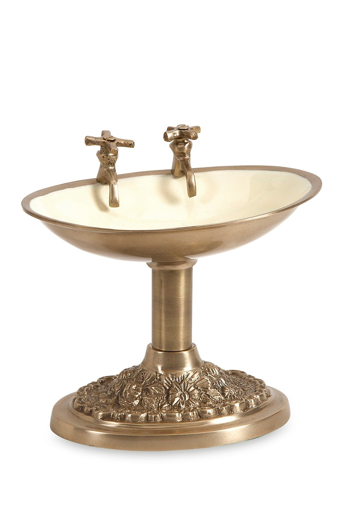 Antique Silver Bath Accessories: Julian Brass Soap Dish On @HauteLook