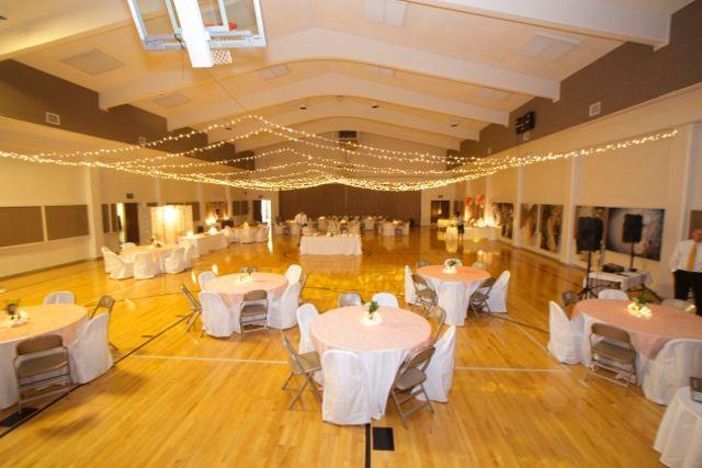 Lds Church Gym Wedding Reception My Wedding Gym