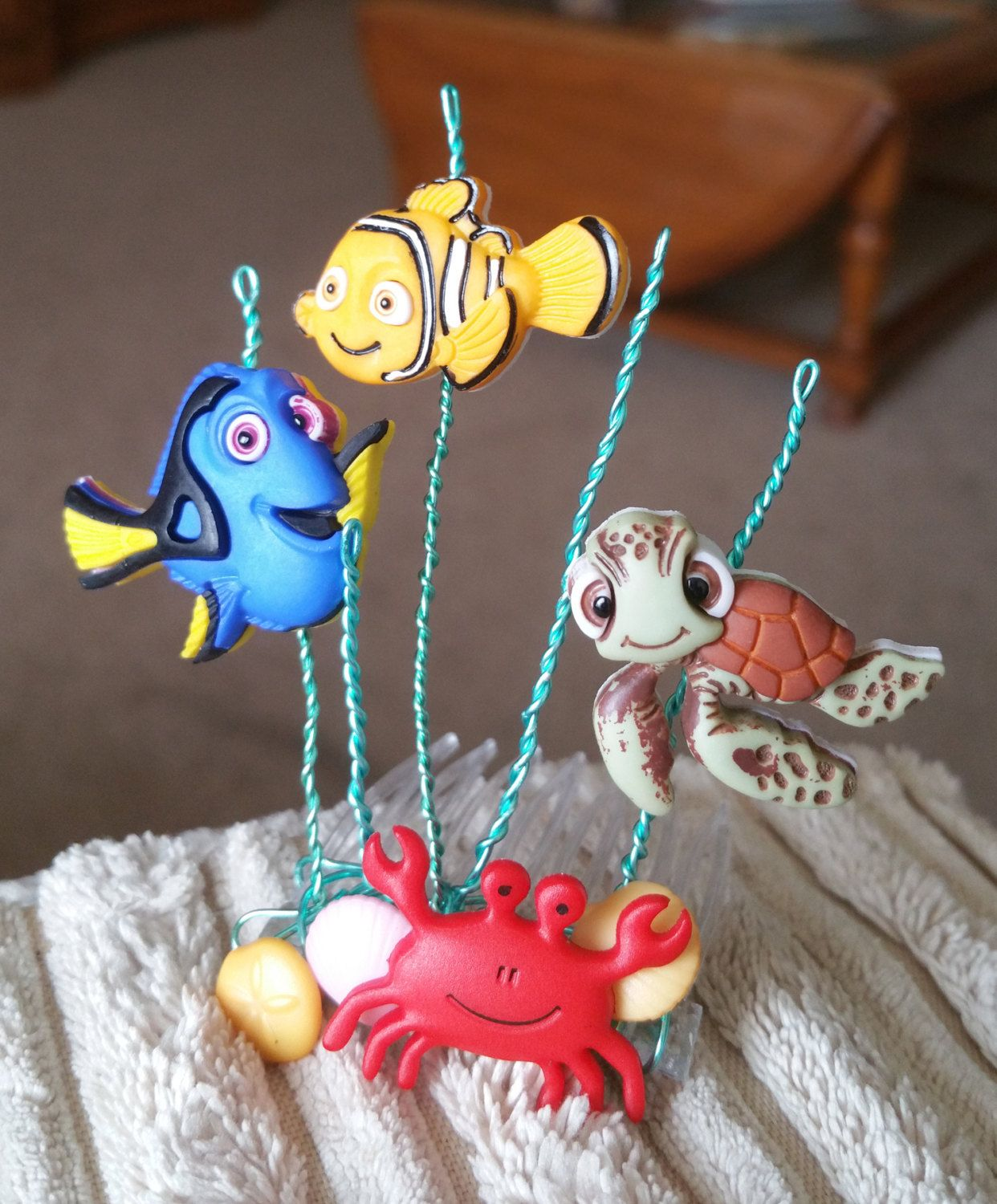 Finding Nemo Tiara/Decorative Comb for you or your precious pet by DoggieStyleByB on Etsy