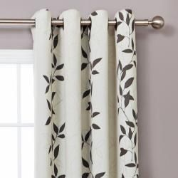 Leaf Patterned Curtain Panels Google Search Ideas For