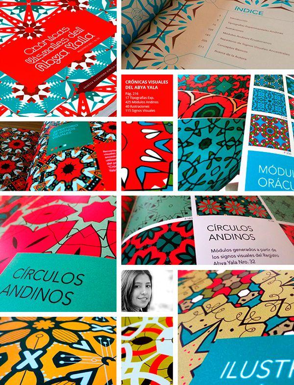 Crónicas Visuales del Abya Yala by Vanessa Zúñiga, via Behance