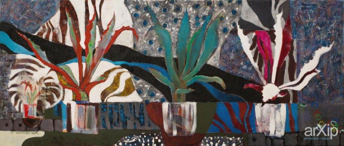 century plant #visualarts #stilllife #acrylic #popart