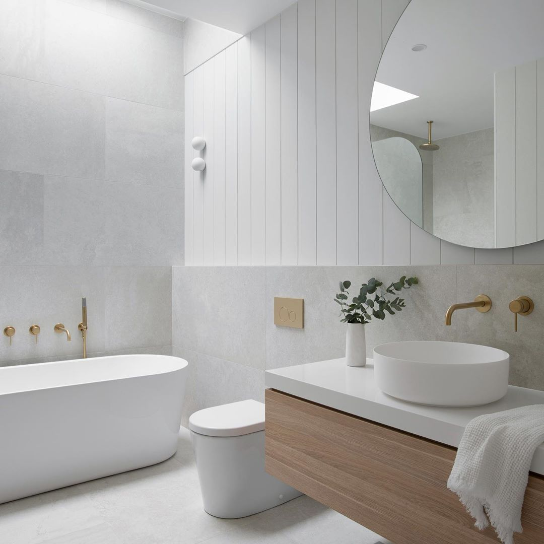 Hettich Australia On Instagram Homebeautiful Share Four New Bathroom Trends For 2020 Maki In 2020 Bathroom Color Schemes Bathroom Interior Design Bathroom Interior