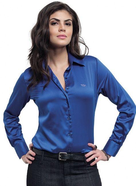 128cdbdfcc Calça Pantalona Feminina Azul Royal Principessa Greici