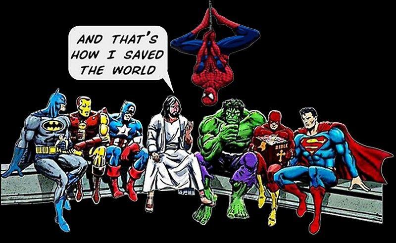 The Greatest Superhero En 2020 Caricaturas Cristianas Imagenes Cristianas Soldados De Cristo