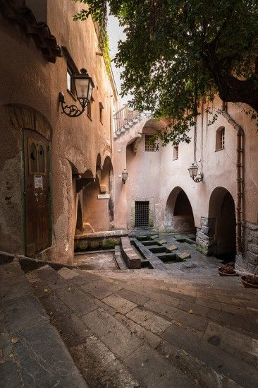 historická mestská práčovňa Lavatoio