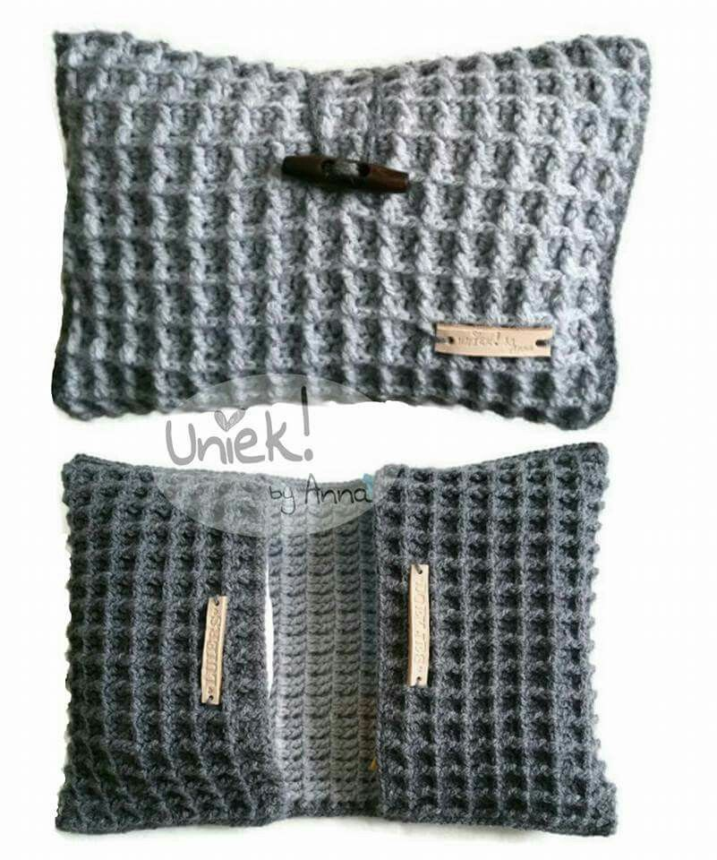 Luier Etui Wafelsteek Wiegjes Pinterest Crochet Baby Crochet