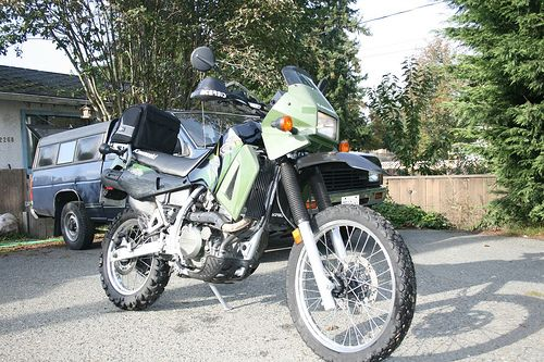 27199km 3 Kawasaki Klr650 Kawasaki Klr 650 Dual Sport