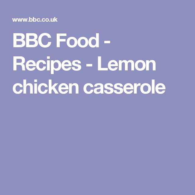 Lemon chicken casserole recipe chicken casserole lemon chicken lemon chicken casserole recipe chicken casserole lemon chicken and casserole forumfinder Images
