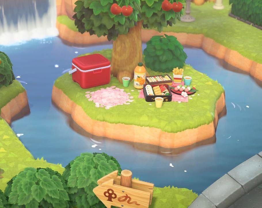 My tiny little picnic island