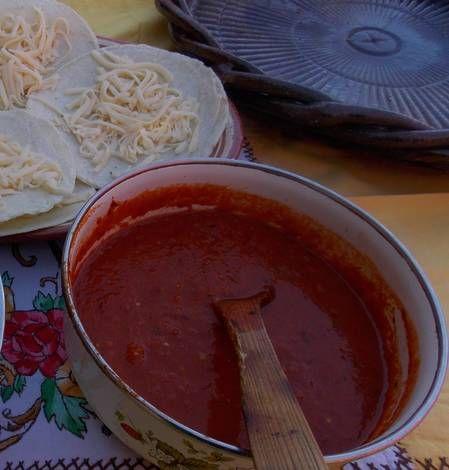 Salsa De Chile De árbol Y Tomatillo Receta De Lenny Receta Recetas De Comida Fáciles Recetas De Comida Mexicana Salsa De Chile
