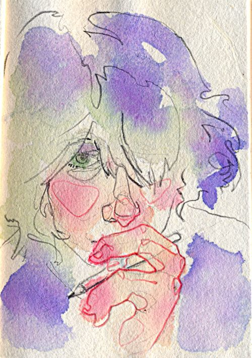 Watercolours by Adara Sánchez Anguiano, via Behance