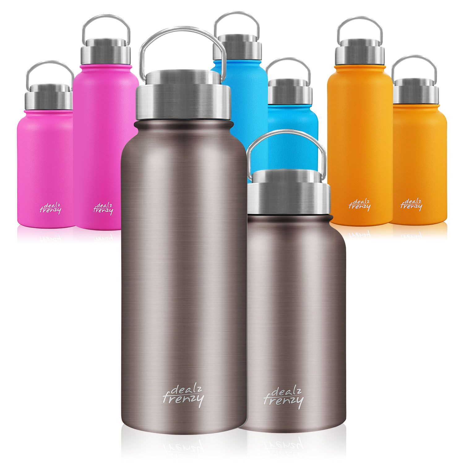 Double Wall Insulated Stainless Steel Travel Coffee Mug
