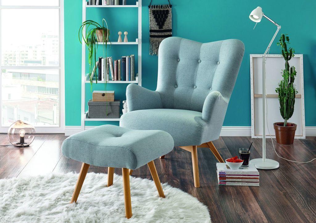 Retro Skandinavisch Sessel Arndt Aqua Aus Stoff Mega Mobel Sb Furniture Home Decor Decor
