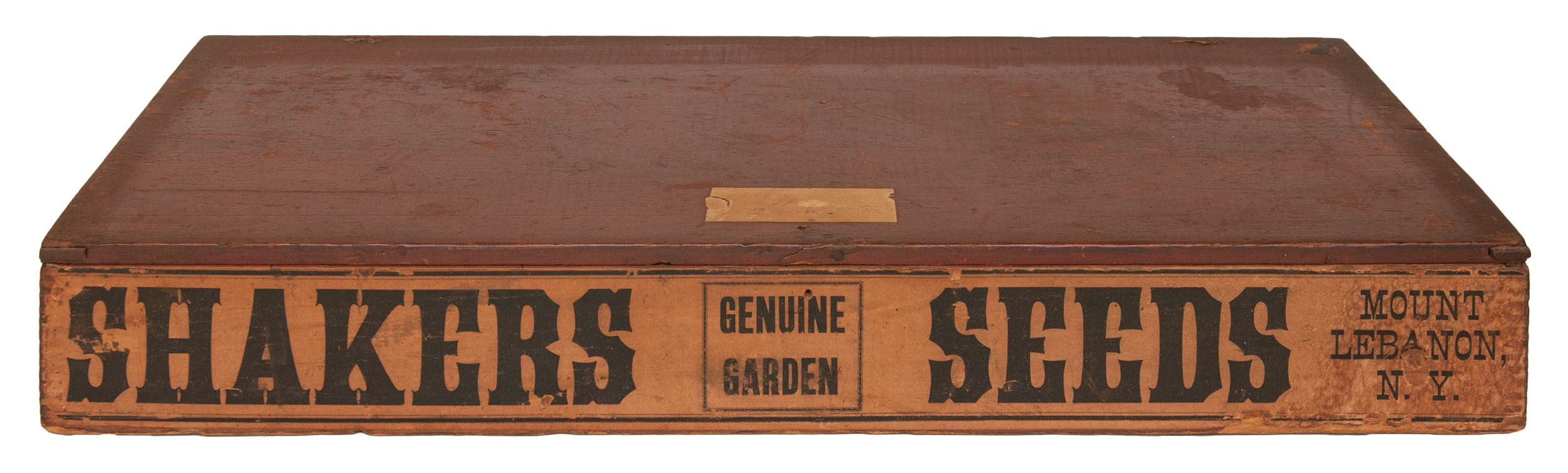 Lot 182: Seed Box | SHAKER ANTIQUES & SHAKER AUCTIONS - SEPTEMBER ...