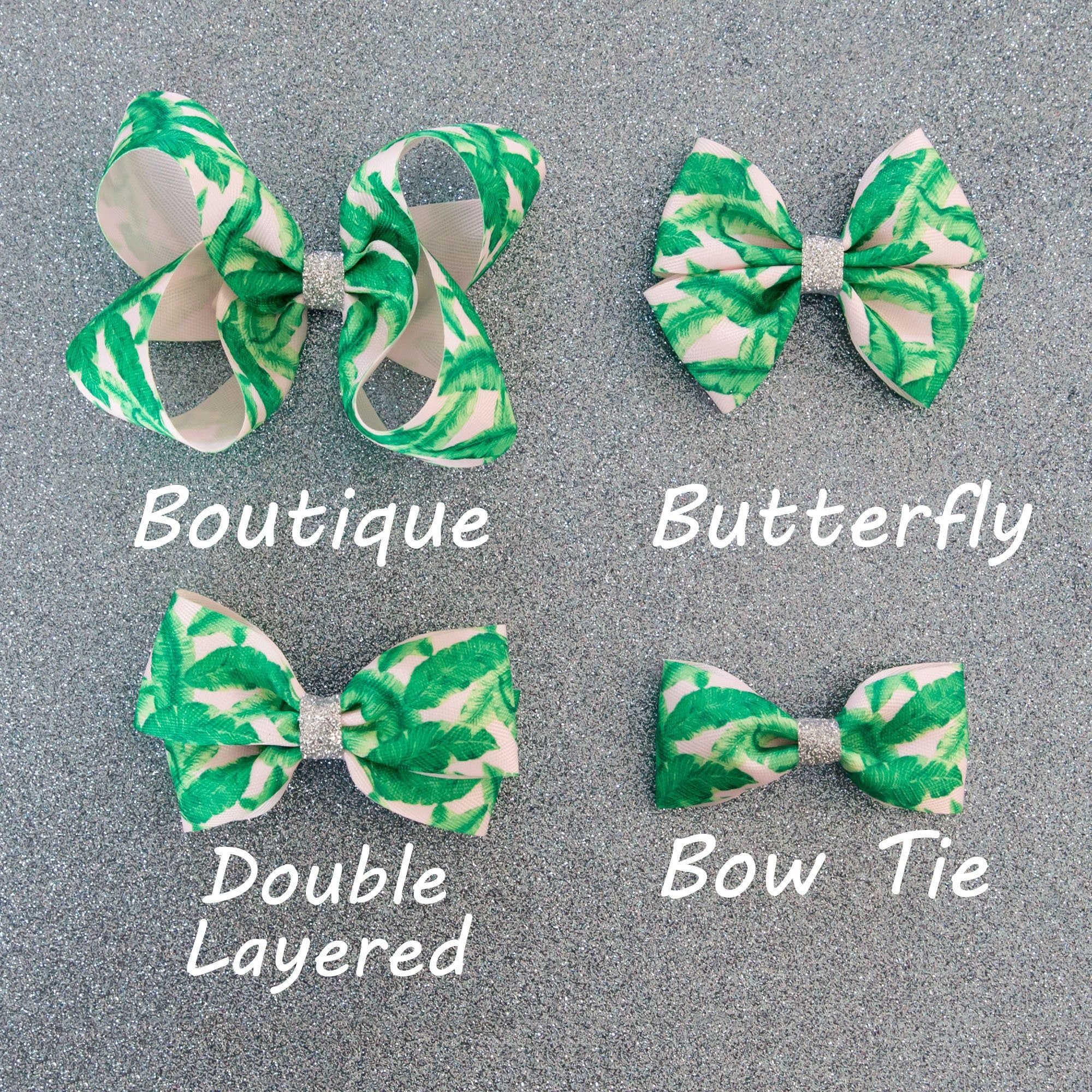 Green Feather Hair Bow | Toddler Hair Bows | Girls Hair Bow | Baby Headband | Twisted Boutique Bows | Back to School | Bow Tie | Baby Ribbon #hairbows
