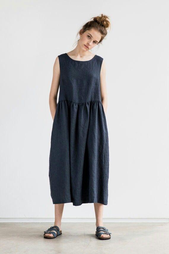 Linen dress from etsy