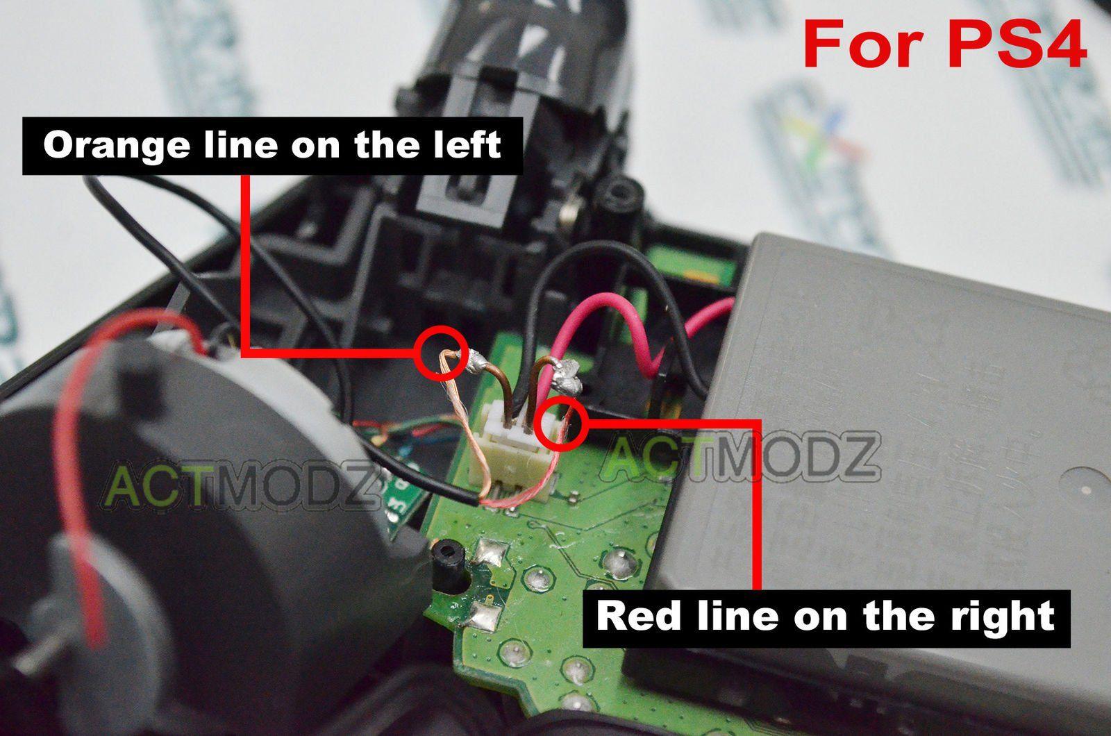 ACTMODZ Transparent Analog DIY LED Light Thumb Sticks Mod