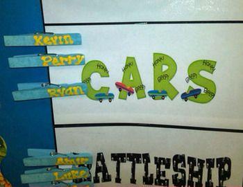 Indoor Recess Chart  First Grade  Inside Recess