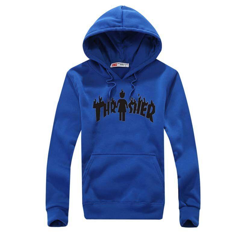 Brand Hooded Hoodies - 8 Colors