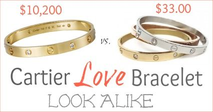 Fashionably Frugal Look Alike Cartier Love Braclet Http Www