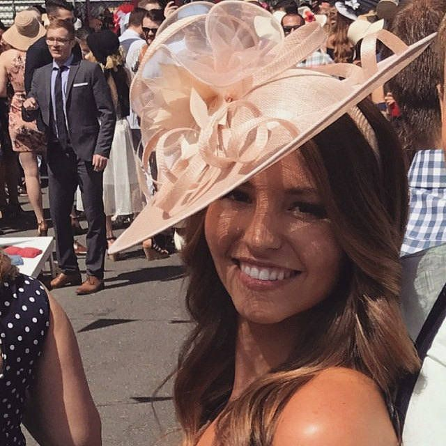 Alisha ..Warm Nude Feather Fascinator..Stunning Sinamay Fascinator on a Headband..please see all pics #fascinatorstyles