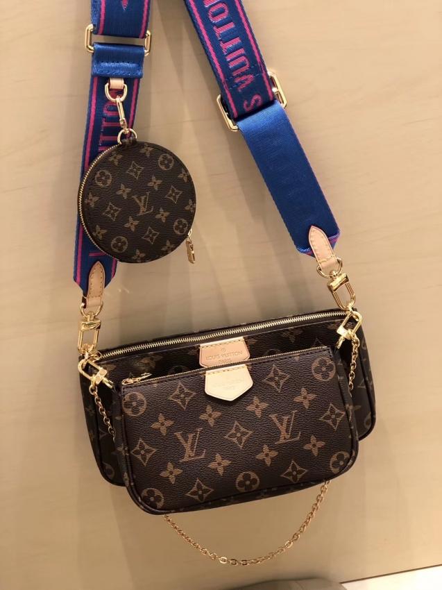 Louis Vuitton Monogram Multi Pochette Accessoires Coin Purse M44813bl Cheap Louis Vuitton Bags Louis Vuitton Louis Vuitton Handbags